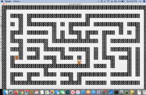 Maze for Python course